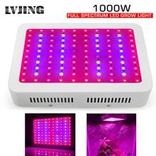 Full Spectrum 1000W LED Grow Light ชิปคู่สำหรับในร่มพืชไฟ LED เรือนกระจกดอกไม้ Veg Growth Grow LED แผงไฟ