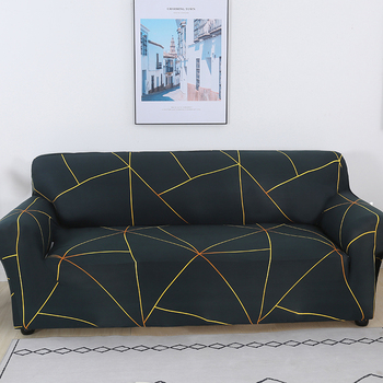 Sofa Covers for Living Room Modern Floral Printed Stretch Sectional Slipcover Polyester L Shape Armchair Couch Case 1/2/3/4 Seat 22