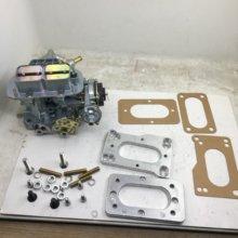 Sherryberg fajs empi carburador carb 38 dgas + kit adaptador para toyota 22r 20r weber gaxetas ferragem 38/38 dgas