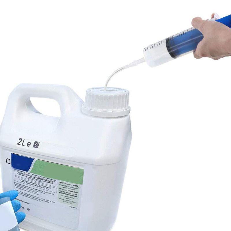Многоразовый пластиковый шприц, шприц для пузырьков, масляный шприц для экстракции жидкости для масла L5YE