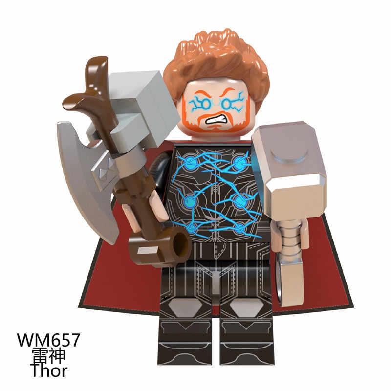アベンジャーズキャプテン · マーベルは Endgame コショウスパイダーマンアイアンマン古代 1 トールハルク戦争機械ビルディングブロックレンガのおもちゃ