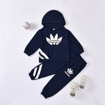 HIPAC 2 uds. Traje deportivo Casual para bebé niño ropa para ropa infantil bebé niños trajes de algodón niños trajes deportivos