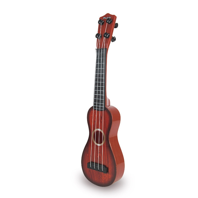 4 String Acoustic Guitar Kids Toy - Vibrant Sounds And Realistic Strings - Beginner Practice Musical Instrument