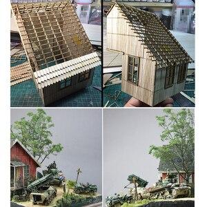 Image 5 - مقياس 1:35 ديوراماس العسكرية بناء نموذج مجموعات العمارة منزل المشهد