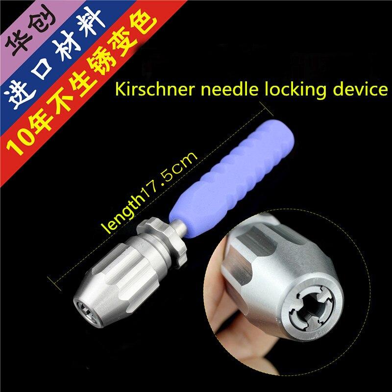 Orthopedic Instrument Medical Kirschner Needle Locker Self-locking Elastic Intramedullary Pin Infiltrator Cannulated Hand Drill