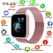 2019 New Women Waterproof Smart Watch T80 Bluetooth Smartwatch For Apple IPhone Xiaomi Heart Rate Monitor Fitness Tracker(China)
