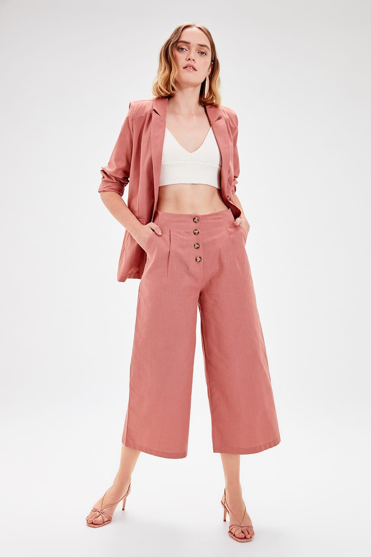 Trendyol Color Rose Loose Cut Pants TWOAW20PL0026