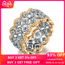Choucong Pave ชุด 220pcs AAAAA zircon CZ Rose Gold 925 (China)