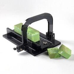 Cortador de jabón acrílico, herramienta de corte ajustable para fabricación artesanal de jabón