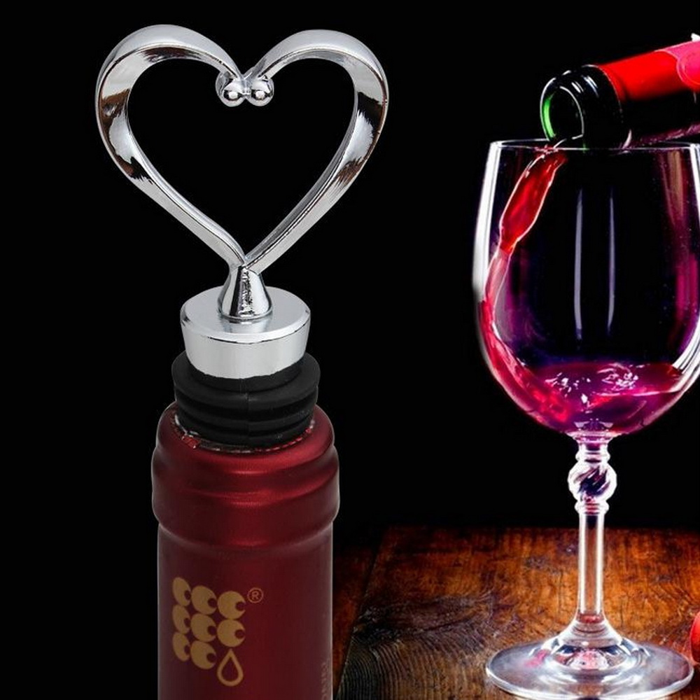 Wine Bottle Stopper Metal Plug Bar tools Accessories starfish love heart shap CO