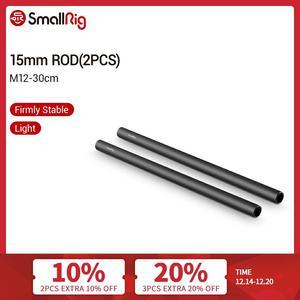 Image 1 - SmallRig 15mm M12 Aluminum Rods (12 Inch) for Dslr Camera Accessory Kit   1053