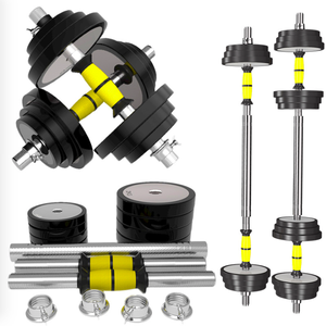 Pure Steel Dumbbell Boxed Plat