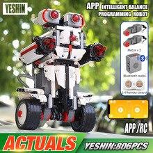 Yeshin, управляемый робот, совместимый с 31313, набор роботов Mindstorm, строительные блоки, кирпичи, программируемые игрушки, детские рождественские подарки