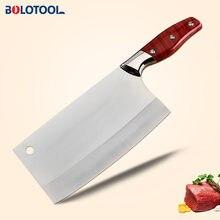 Кухонный нож китайский шеф повар из нержавеющей стали 8 дюймов