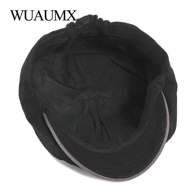 Gorra octogonal de algodón