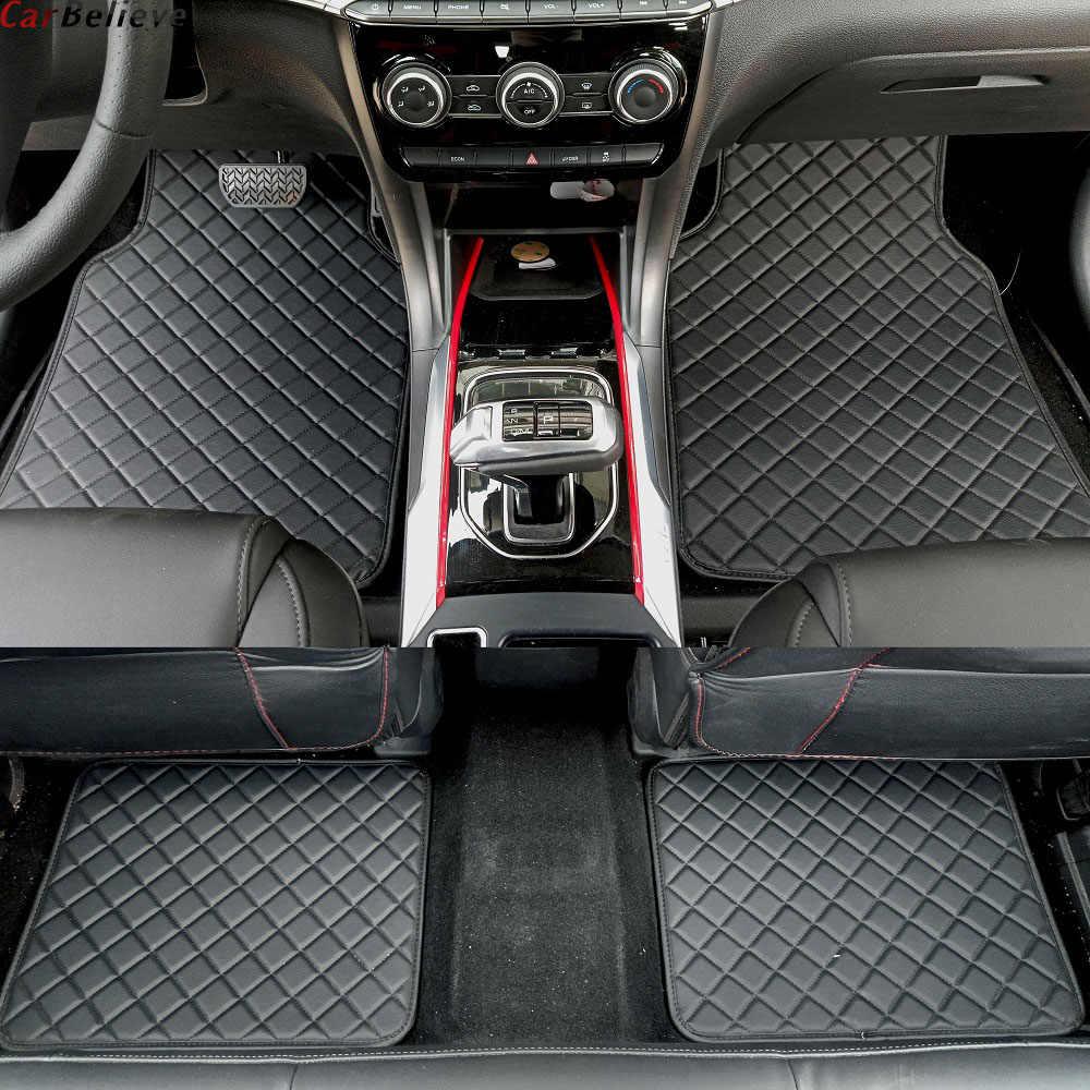 Mobil Percaya Lantai Mobil Tikar untuk Renault Logan Megane 2 Captur Kadjar Fluence Laguna 2 Indah Koleos Espace Aksesoris Karpet karpet