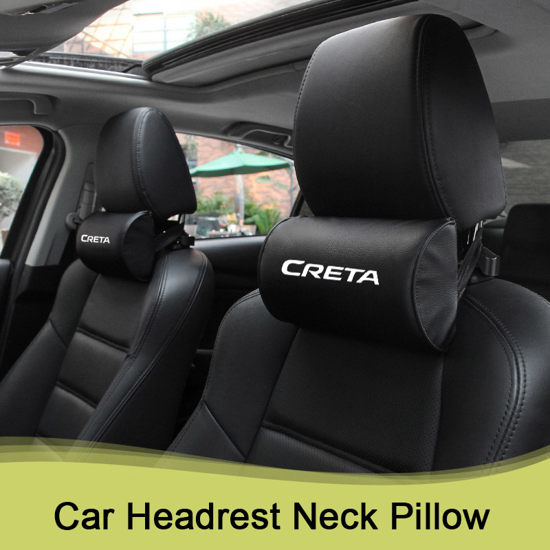Auto Car Neck Pillow Safety Car Seat Head Neck Auto Headrest Support For Hyundai Creta