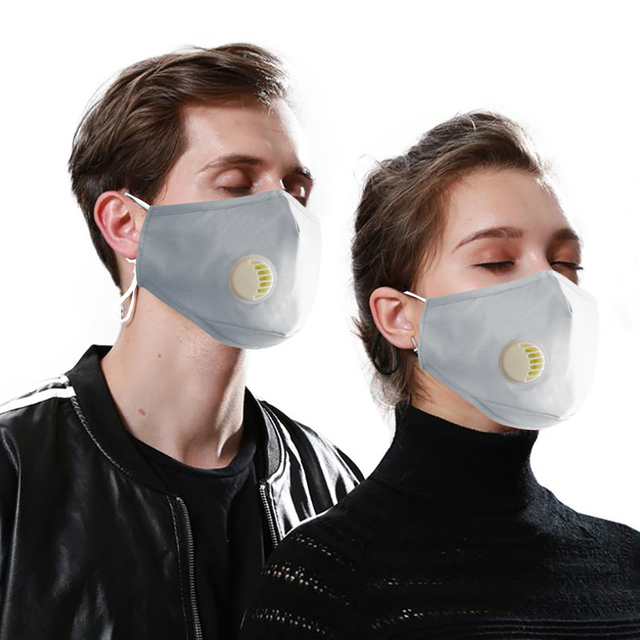 Face Mouth Mask Respirator Reusable Unisex Mask Breathable Anti-dust Haze Flu PM2.5 Face Masks Care For Travel Cycling D30 2