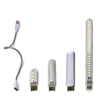 Portable USB Book Light Mini LED Night Lights Table Desk Lamp Libros De Lectura Flashlightfor Bank Laptop Camping Reading Lamps cheap AliexLED CN(Origin) ROHS Book Lights 2 years none LED Bulbs 5730 usb led-light SMD 2W 4W 6W 12W Easy to carry USB-powered super bright super power saving