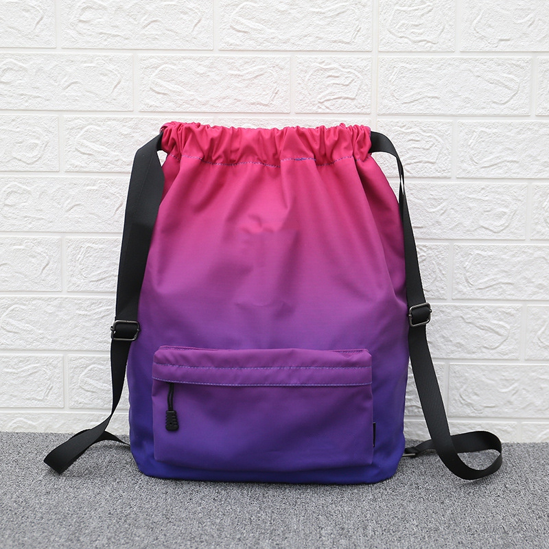 Backpack Wallet Gym-Bags Training Women Travel Girls Outdoor New for Make-Up