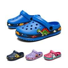 Детские летние сандалии с милыми животными; Резиновые сабо для