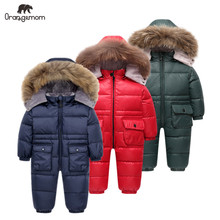 Overalls for boys Orangemom jacket for children from 1 to 4 years winter