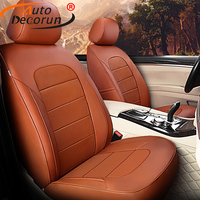 AutoDecorun Genuine Leather Seat Cover Car for BMW Z4 Accessories Seat Covers for Cars Seat Protectors Cowhide Cushion Supports
