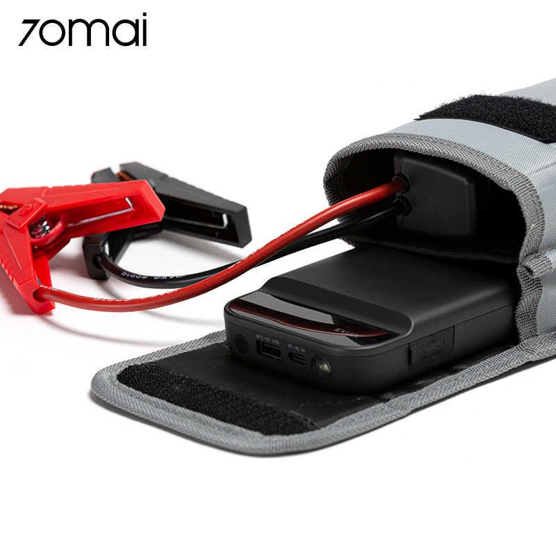 70mai urządzenie do uruchamiania awaryjnego samochodu Power Bank 11000mah 70 Mai przenośna ładowarka samochodowa 12V Auto Buster awaryjne urządzenie zapłonowe