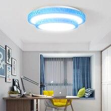 Lámpara de techo Led moderna, 220V, 36W, 72W, regulable, para sala de estar, montada en superficie para cocina y hogar