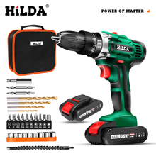 Cordless Drill Electric Screwdriver Mini Wireless Power Driver DC Lithium Ion Battery 3/8 Inch power tools