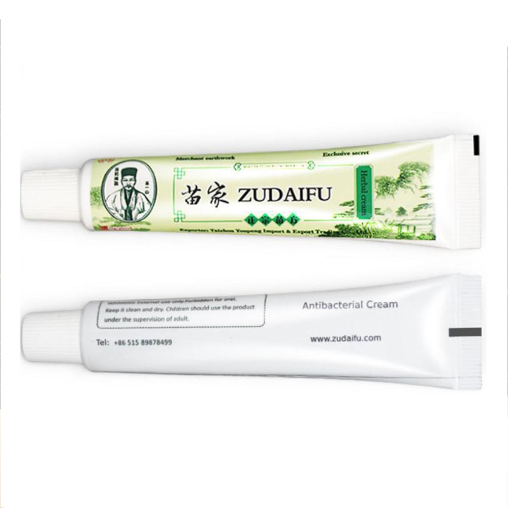 Dropshipping Zudaifu Skin Psoriasis Cream Dermatitis Eczematoid Eczema Ointment Treatment Psoriasis Cream Skin Care Cream image