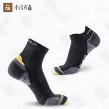 3 çift/takım Youpin COOLMAX hızlı kurutma hafif yastıklama spor çorapları serisi nefes erkek ve kadın tekne çorap kısa çorap