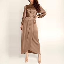 Vestido corto ajustado de estilo femenino para mujer, vestido elegante y sencillo de estilo coreano, con cordón, plisado en la cintura, 2020