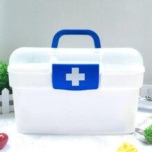Practical Medicine Boxes Creative Portable Household Plastic Durable Moistureproof Home Travel Necessary Medical Kit Storage Box