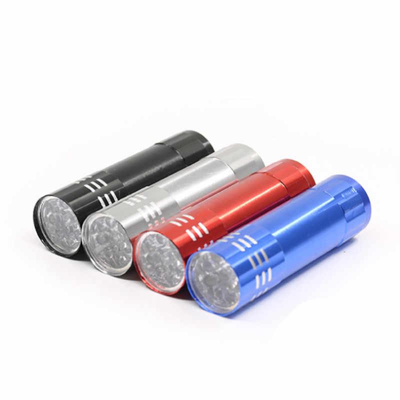 1 Pc Professional Gel Nagel Trockner UV Lampe Tragbare Mini LED Taschenlampe Für Nagel Gel 15s Schnell Trocken Heilung nail art Trockner Werkzeuge