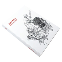 Kim Jung Gi 2011 Sketch Collection Book Kim JungGi Works Sketch Manuscript Line Drawing Book