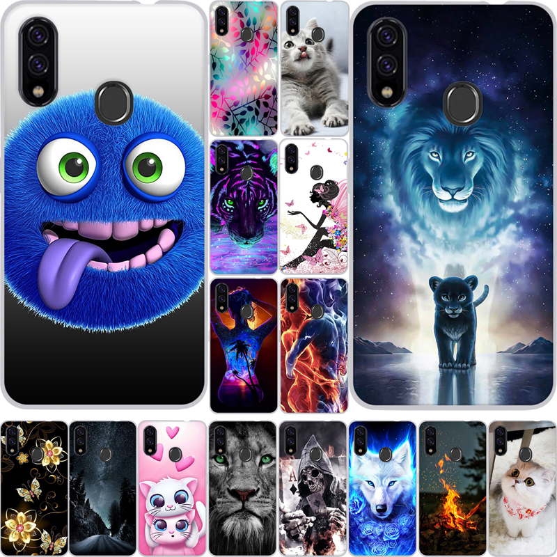 Cover For ZTE Blade V10 Case Silicon Soft TPU Printed Painted Back Cover For ZTE Blade V10 Vita Case Phone Case For ZTE V10 Vita