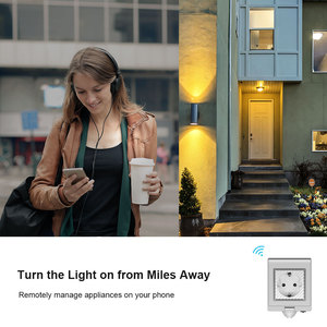 Image 2 - Itead Sonoff S55 Waterproof Smart Socket Wifi Switch UK/AU/US/FR/DE/ZA Multiple Version Wifi Socket Works With Alexa Google Home