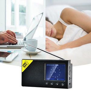 Image 5 - 2.4 lcdディスプレイスクリーンdab/dab + デジタルラジオ放送fm受信機スピーカーbtアラーム時計デジタルオーディオ放送音楽