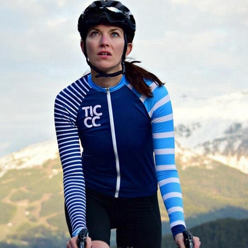 Long Sleeve Jersey Cycling Women 2020 Road Bike Team Riding Gear Ticcc Spring Summer Outdoor Sports Full Sleeve Team Racing Wear