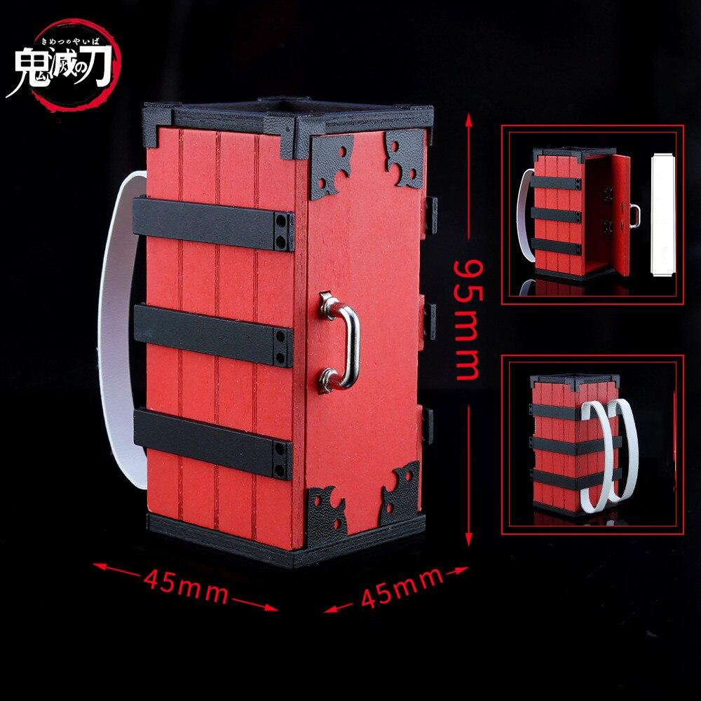 Demon Slayer: Kimetsu No Yaiba Kamado Tanjirou Agatsuma Zenitsu Hashibira Inosuke Kamado Nezuko Box Cosplay Keychain
