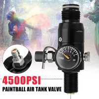 "5/8""-18UNF Thread Paint Valve Ball Regulator Input 4500psi HPA Air Tank Output 1800psi Ball Valve"