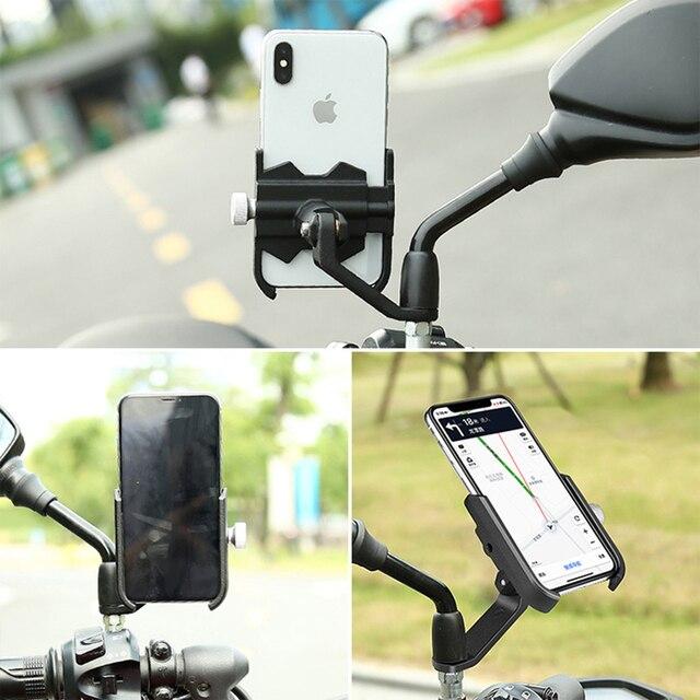 Фото универсальный велосипед мобильный телефон держатель алюминиевый цена