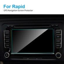 Protecteur d'écran en TPU pour Skoda Rapid, 6.5 pouces, Film de protection pour la Navigation GPS, accessoires d'intérieur de voiture