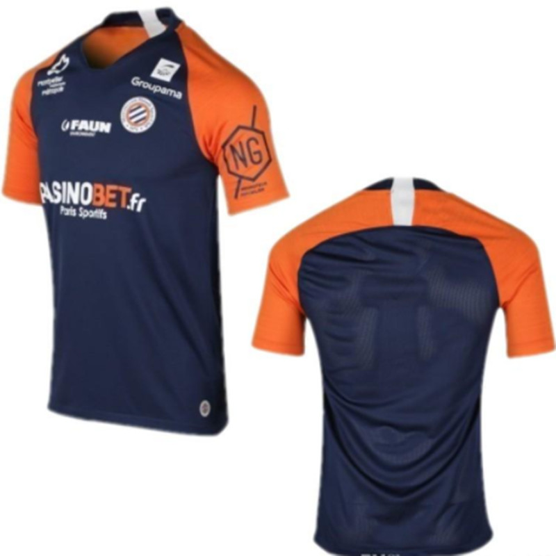 2019 2020 camiseta de fútbol Montpeller 19 20 delot LABORDE