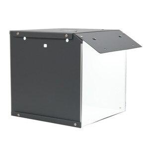 Image 2 - Nowy SANOTO 40cm namiot do zdjęć fotografia tło przenośny Softbox LED Light budka foto fold Photo Studio miękkie pudełko