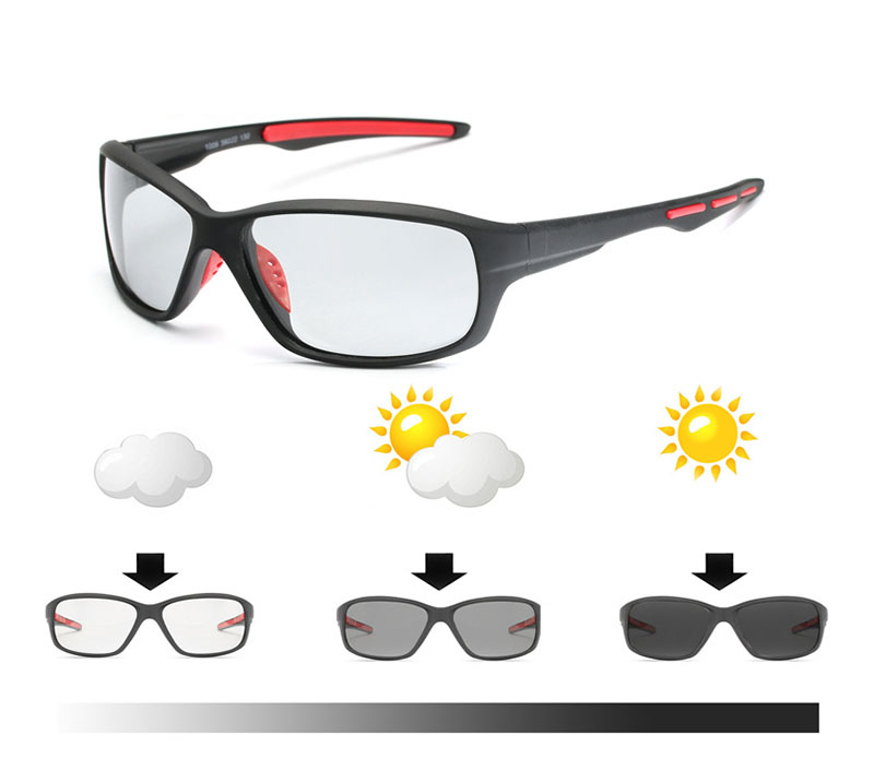 Outdoor Photochromic Polarized Cycling Glasses for Men and Women Eyewear Sunglasses Sport Equipments