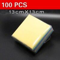 100/шт ткань для очистки экрана мобильного телефона чистая ткань для экрана специальная ткань микрофибра для очков ткань для экрана