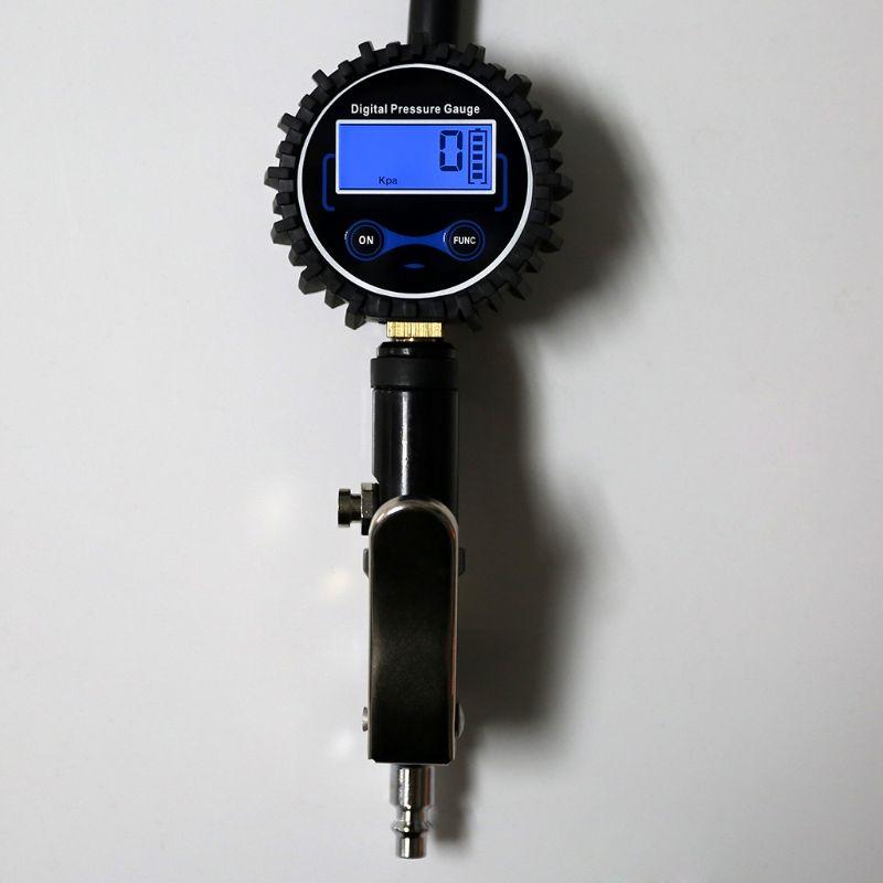 ar com manômetro de pressão 200psi mandril
