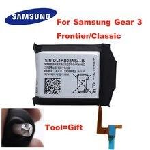Original eb br760abe bateria EB-BR760ABE para samsung engrenagem s3 fronteira clássico EB-BR760A SM-R760 SM-R770 SM-R765 380mah + ferramenta